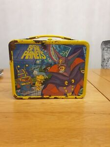 vintage BATTLE OF THE PLANETS LUNCHBOX metal lunch box with Thermos
