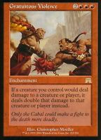 Gratuitous Violence | NM | Onslaught | Magic MTG