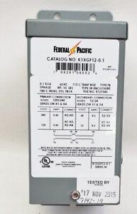 New Federal Pacific K1XGF12-0.1 General Purpose Transformer