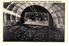 ROCKEFELLER CENTER ORCHESTRA & STAGE, 6TH AVE & 50TH ST. NYC