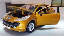 Voitures miniatures métalliques pour Peugeot