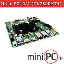 Mitac pd10ai-n3350 (Intel dn2800mt4) mini-ITX placa madre o base [fanless]