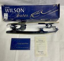 New Vintage John Wilson Coronation Ace Figure Ice Skate Blades Size 11 For 11.25