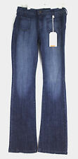 Hart Denim Patch Pocket Flare Jeans Made in USA Label 29 Meas 27x34 NWT New