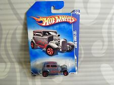"""2009 HOT WHEELS  """"REBEL RIDES""""  #138 = `32 FORD VICKY = BLUE  5sp"""