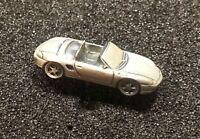 PORSCHE PIN 911 Cabrio modello 3D ARGENTO MATT 27x11mm (3)