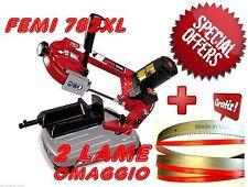 Segatrice Per Ferro A Nastro Femi 782 XL Taglio 105mm 950w + 2 Lame Omaggio !!