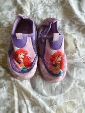 Girls Disney Little Mermaid Swim/beach Shoes Size 9
