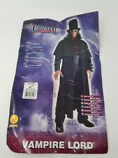 The Covenant: Vampire Lord Costume One Sz Up to 44 - w Makeup and Fangs