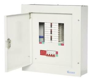 3-PHASE DISTRIBUTION BOARD 125A 12WAY Circuit Breakers TPN04 PACK 1
