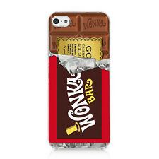 Willy Wonka Golden Ticket Chocolate Bar Case Cover For iphone 5 5S SE New