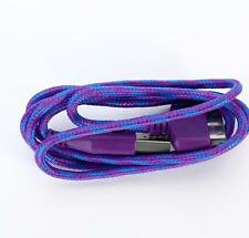 Purple 1 M Intrecciato USB Cavo dati carica per Apple iPod iPhone 4 S 4 4 G 3, Ipad 2,3