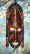 African Wooden Face Mask