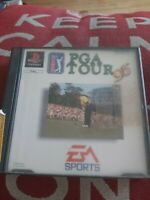 "PS1 game """" PGA TOUR 96 """" working condition ** RARE **"