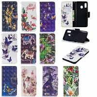 For Samsung Galaxy M30 A10E A20E A70 3D Painted Wallet Flip Leather Case Cover