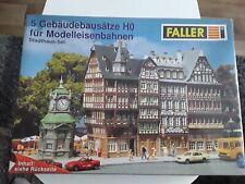 Faller HO 180670, 5 Altstadt-Gebäudebausätze, Stadthaus Set in ungeöffneter OVP