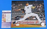 DELLIN BETANCES SIGNED 8x10 PHOTO ~ NY YANKEES ~ JSA T05478 ~ AUTOGRAPH