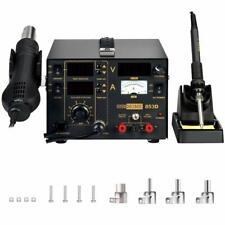 VIVOHOME 3-in-1 853D Hot Air Gun Station Soldering Rework Welder SMD Repair Tool