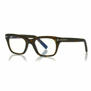 Tom Ford TF5536 Eyeglasses TF 5536 052 Dark Havana Optical Frame New 51mm