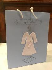 Lot 4 New Hallmark Blue Gift Bag SPA-Ahhh Bridal Shower Wedding Girly Night
