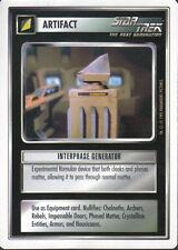 STAR TREK CCG WHITE BORDER PREMIERE 1995 BETA RARE CARD INTERPHASE GENERATOR