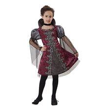Girls Large Vampiress vampire Halloween costume dress & choker Free Shipping