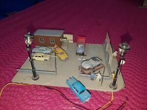 Diorama Gebrauchtwagen Handel