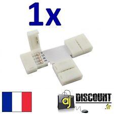 "Connecteur Angle ""T"" pour ruban led - RGB 5050 strip 4 broches"