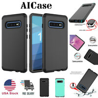 SamSung Galaxy S10+ S10E Shockproof Hybrid Rugged Armor Rubber Hard Case Cover