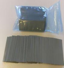 250 pcs Pre-Cut 18650 Lithium Battery Grey PVC Heat Shrink Wraps Vape LG