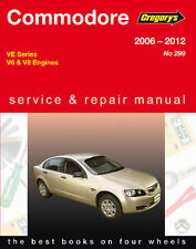Holden Commodore VE V6 & V8 Workshop Repair Manual with MPN GAP04299