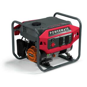 Powermate P0081100 PM3800 3800/3000 Watt 212cc Portable Gas Generator New