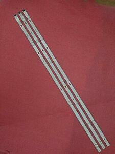 "Kit 3 Barres Bande LED LG 43 "" LC43490060A 7LED 830 43UJ65 _ UHD _ A/B 43UJ61_"