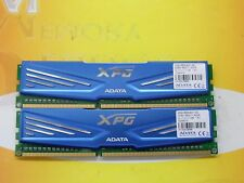 ADATA 8GB (2X 4GB) DDR3 PC3-12800 1600 MHz 240-pin NON ECC LOT AX3U1600C4G11-SD