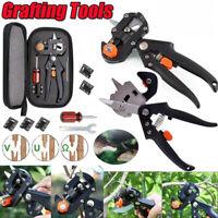 Professional Garden Tree Nursery Grafting Pruning Pruner Shears Cutting Tool Kit