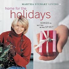 Martha Stewart Living: Home for the Holidays by VA (CD, Rhino) Christmas Spirit