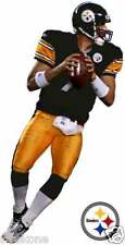 BEN ROETHLISBERGER Pittsburgh Steelers NFL QB WindoCling Decal Sticker - NEW