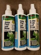 Lot Of 3 Nos New True Value Greenthumb 8 Oz Bottle Spray House Plant Leaf Shine