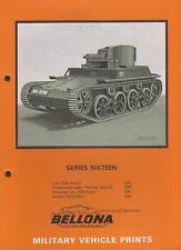 BELLONA Military Vehicle Prints Series 16 (Light Tank Mk.I, Infantry Tank Mk.I)