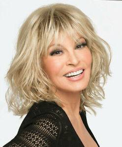 STOP TRAFFIC Wig RAQUEL WELCH, R14/88H Golden Wheat, CLEARANCE! Mono Crown