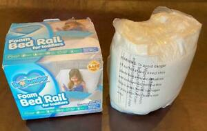 BuBumper Foam Bed Rail for Toddlers - Extra Long - 66 in
