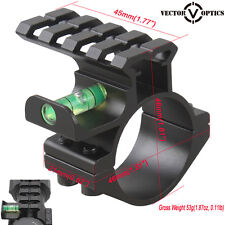 Vector Optics 30mm 25mm Picatinny Mount Ring Anti Cant Rifle Scope Bubble Level
