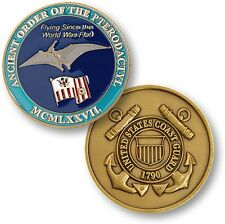U.S. Coast Guard / Ancient Order of the Pterodactyl - USCG AOP Challenge Coin
