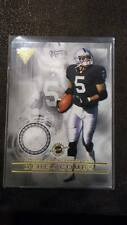 DEREK COMBS KEN-YON RAMBO 2001 TITANIUM DOUBLE-SIDED RAIDERS DUAL JERSEY PATCH!!