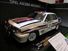 OPEL ASCONA 400 #3 Rallye MONTE CARLO de 1983 au 1/18 SUN STAR 5369 miniature