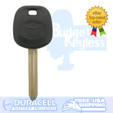 New Toyota Transponder Car Key With Logo Dot 4D Chip Toy44D-Pt