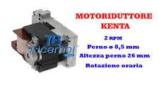 MOTORIDUTTORE STUFE A PELLET KENTA 2 RPM PERNO ø 8,5 mm