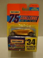 1997 Matchbox 75 Challenge 97 Plymouth Prowler #34 1of10,000 1:64 Diecast 17-326