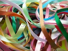 Berisfords Double Satin Ribbon Choice of Different Colours Widths and Lengths Lupin Col 1001 25mm X 5mts