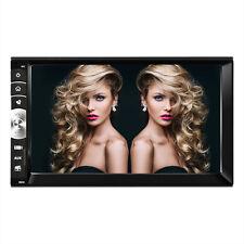 "Double 2 DIN 7"" HD Bluetooth V3.0 Car Stereo Radio Multimedia MP5 Player USB/TF"